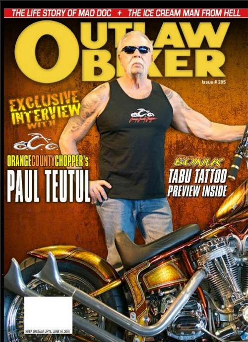 Outlaw Biker - Tattoo Media Ink | Publishers of the Best ...