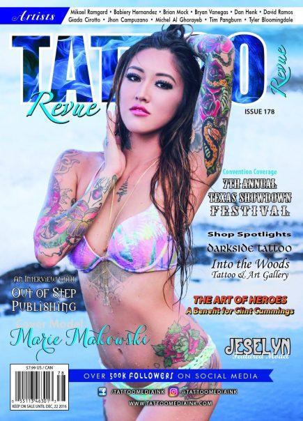 Tattoo Revue Magazine Issue #180 - Tattoo Media Ink