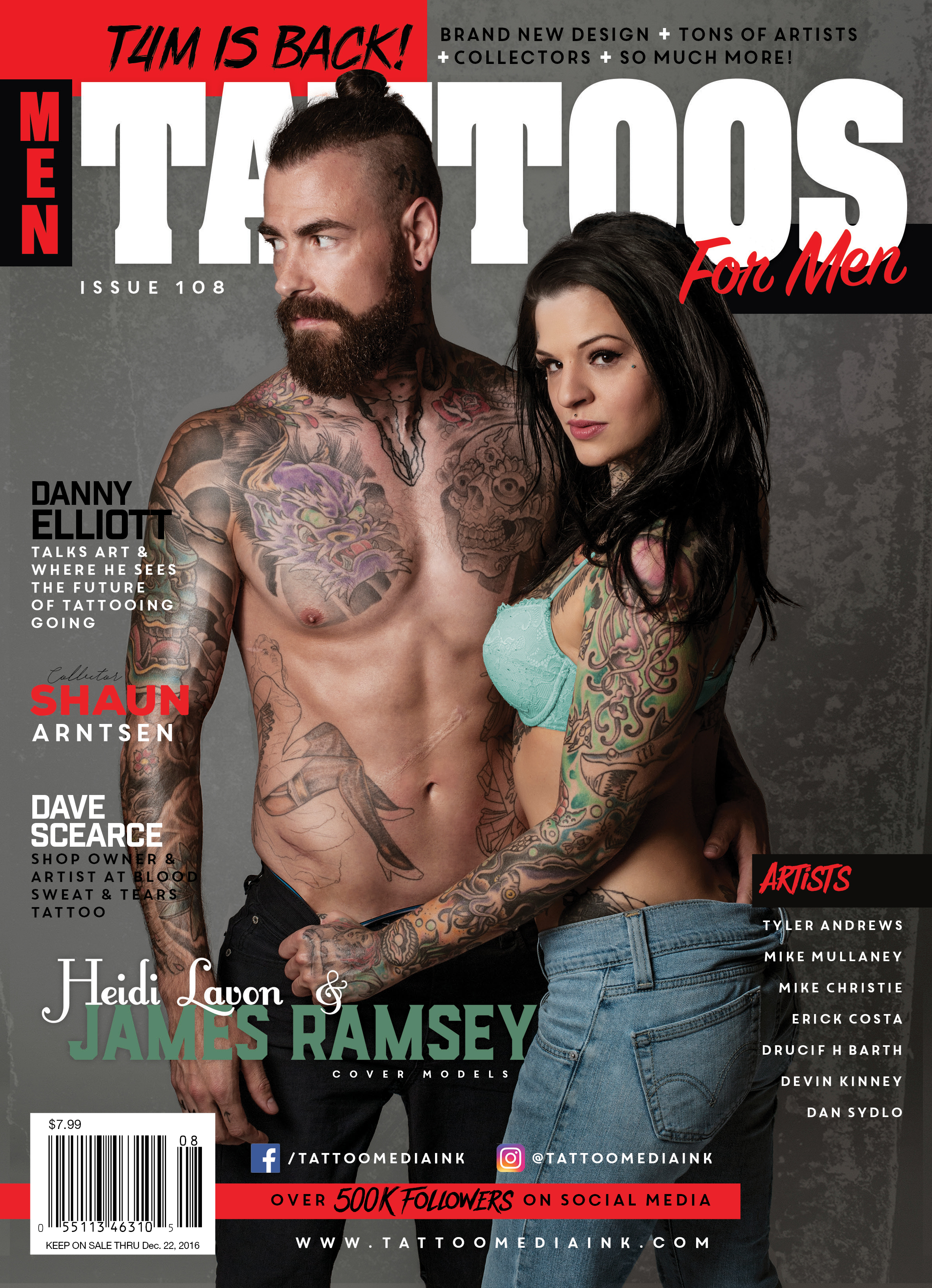 Tattoos for Men - Tattoo Media Ink | Publishers of the Best Tattoo ...