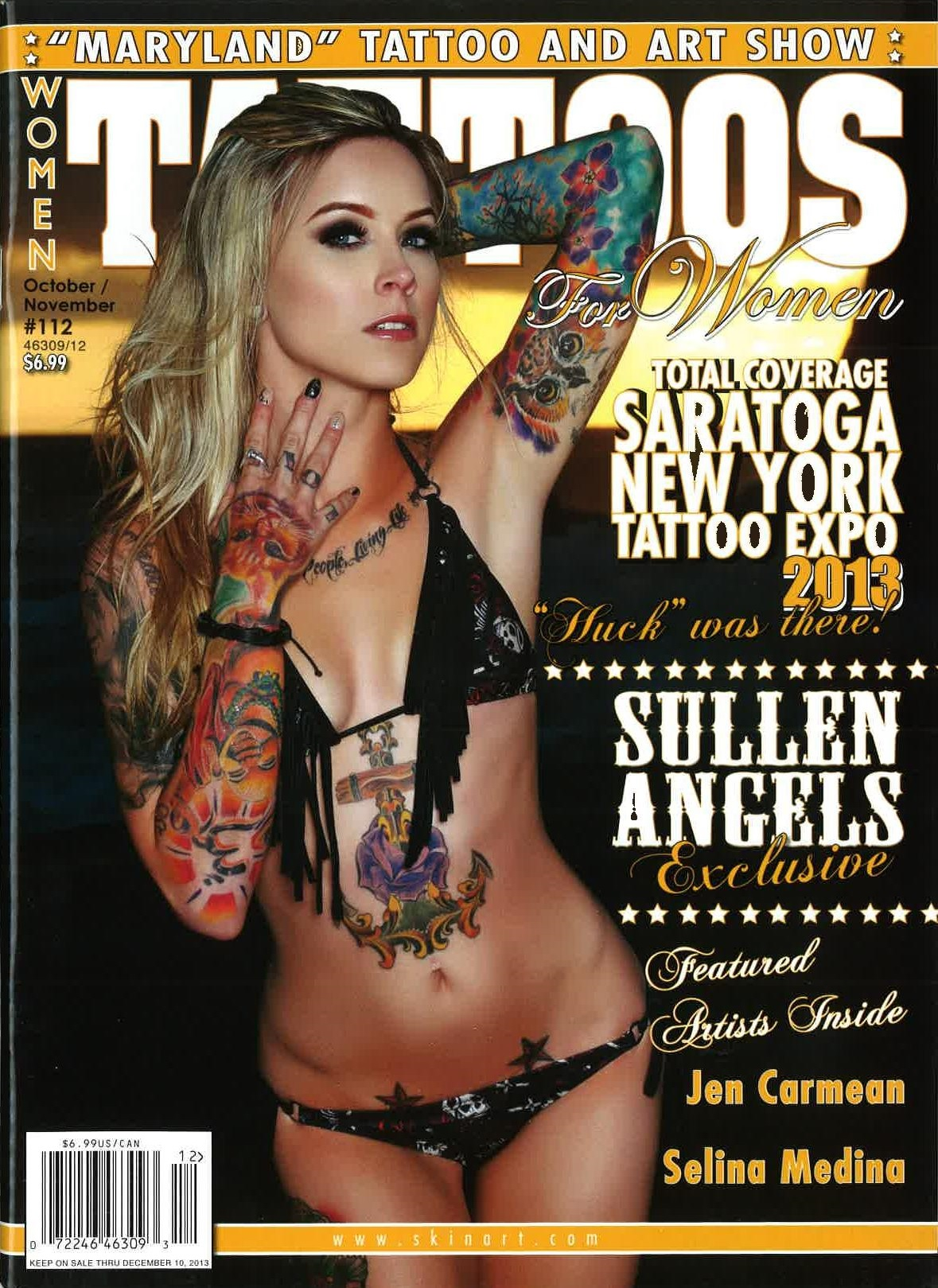 Tattoos for Women - Tattoo Media Ink | Publishers of the Best Tattoo ...