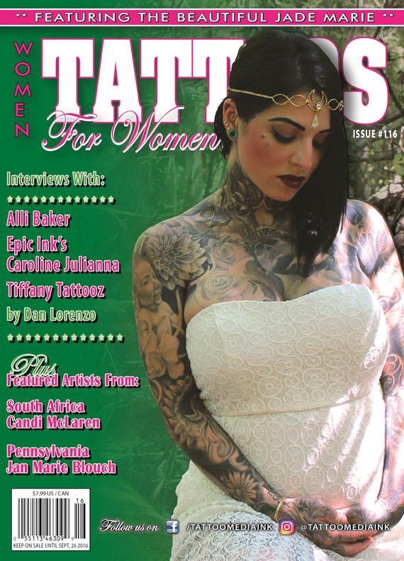 Tattoos For Women Magazine Issue #116 - Tattoo Media Ink ...