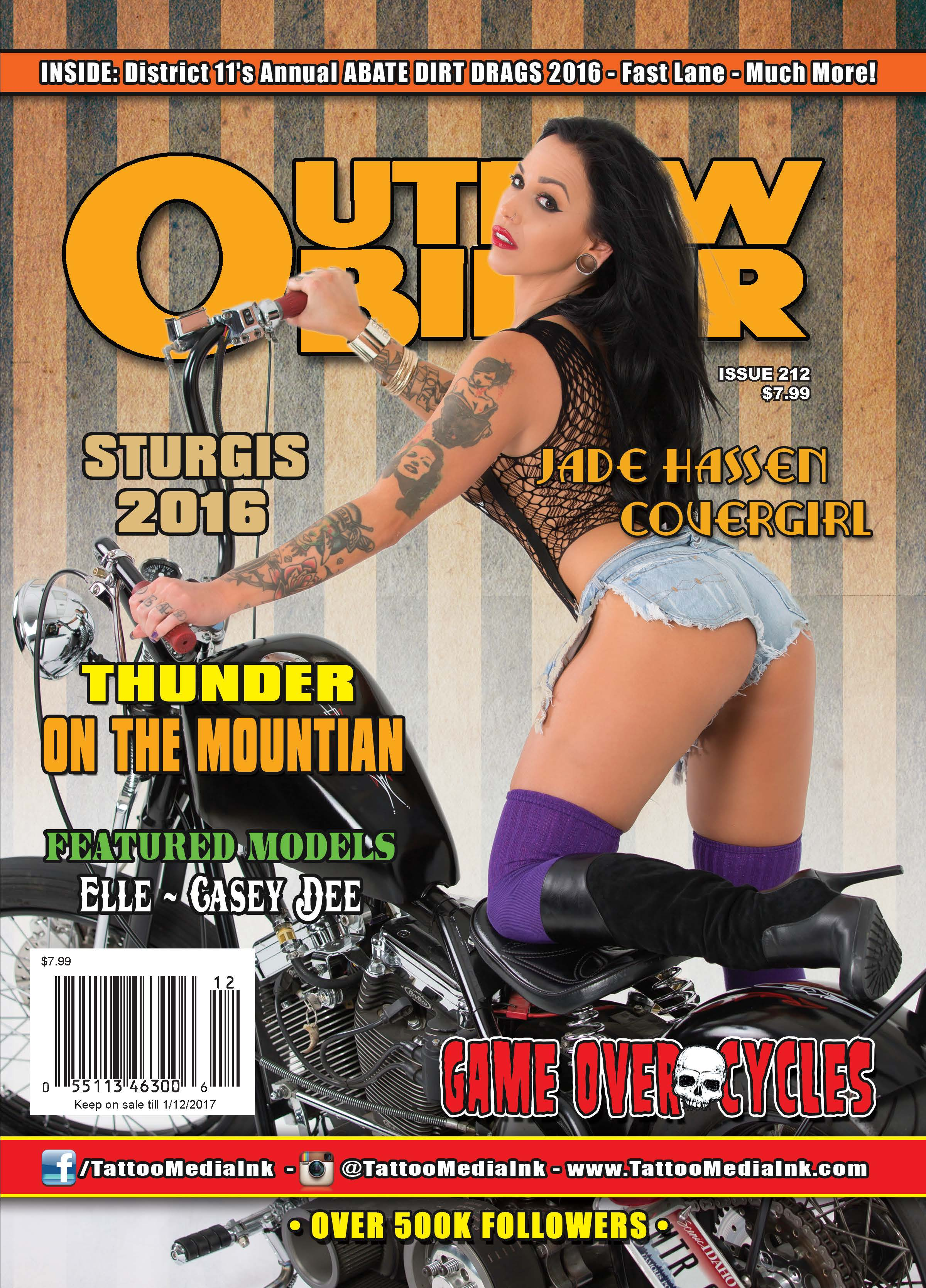Outlaw Biker Magazine Issue #212 - Tattoo Media Ink | Publishers of ...