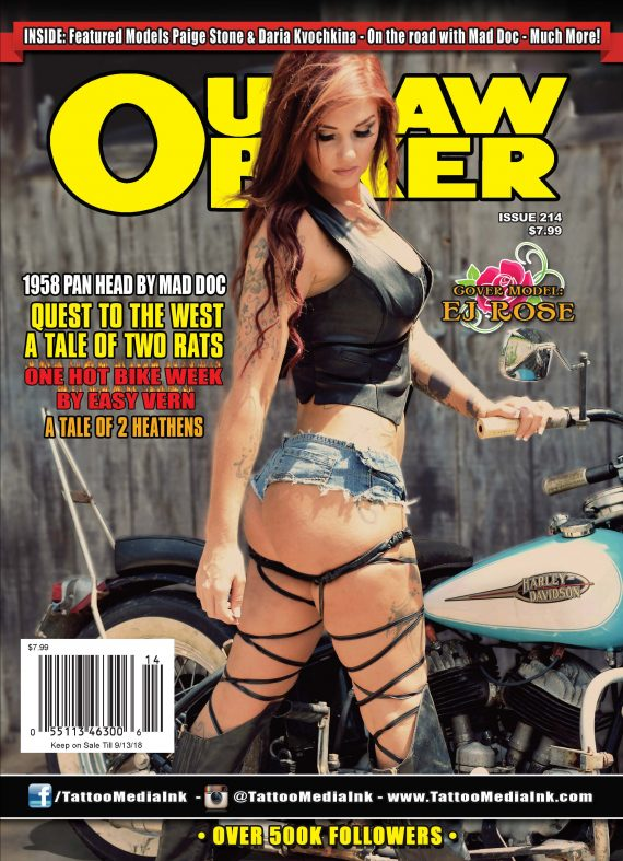 Outlaw Biker 214 Cover