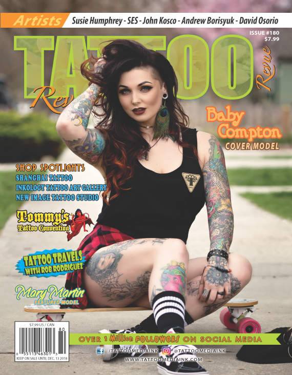 Tattoo Revue 180 Cover