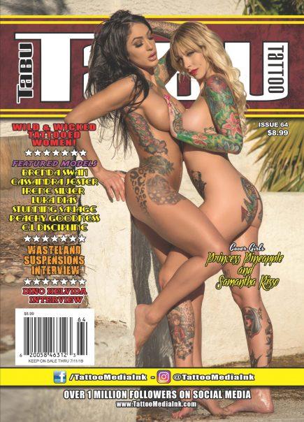 TABU Tattoo Magazine 6 Issue Subscription - Tattoo Media Ink ...