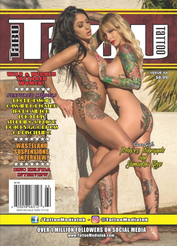 Tabu Tattoo 64 Cover JPEG